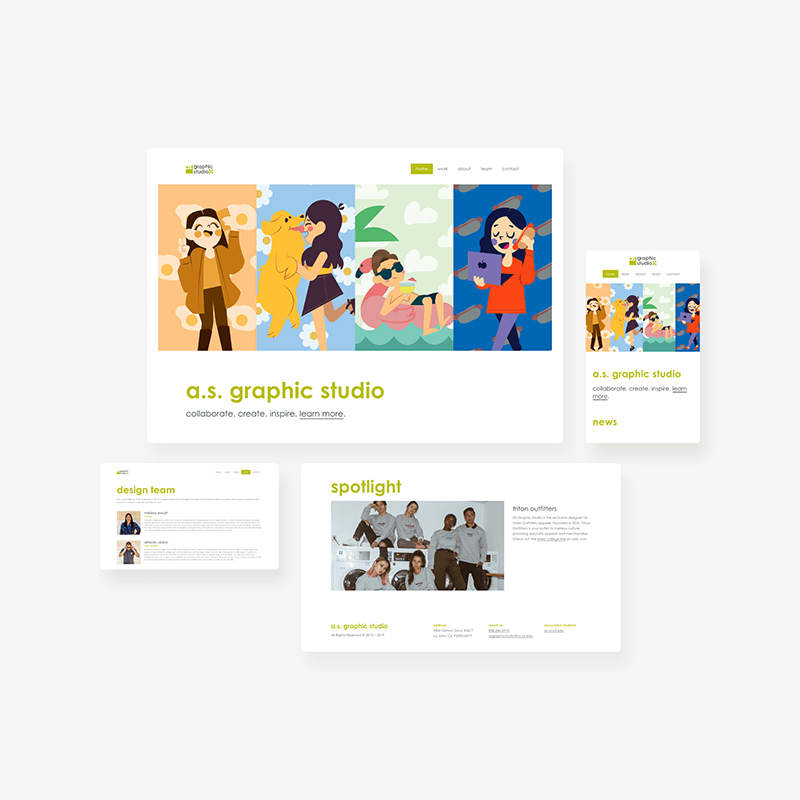 A.S. Graphic Studio Redesign