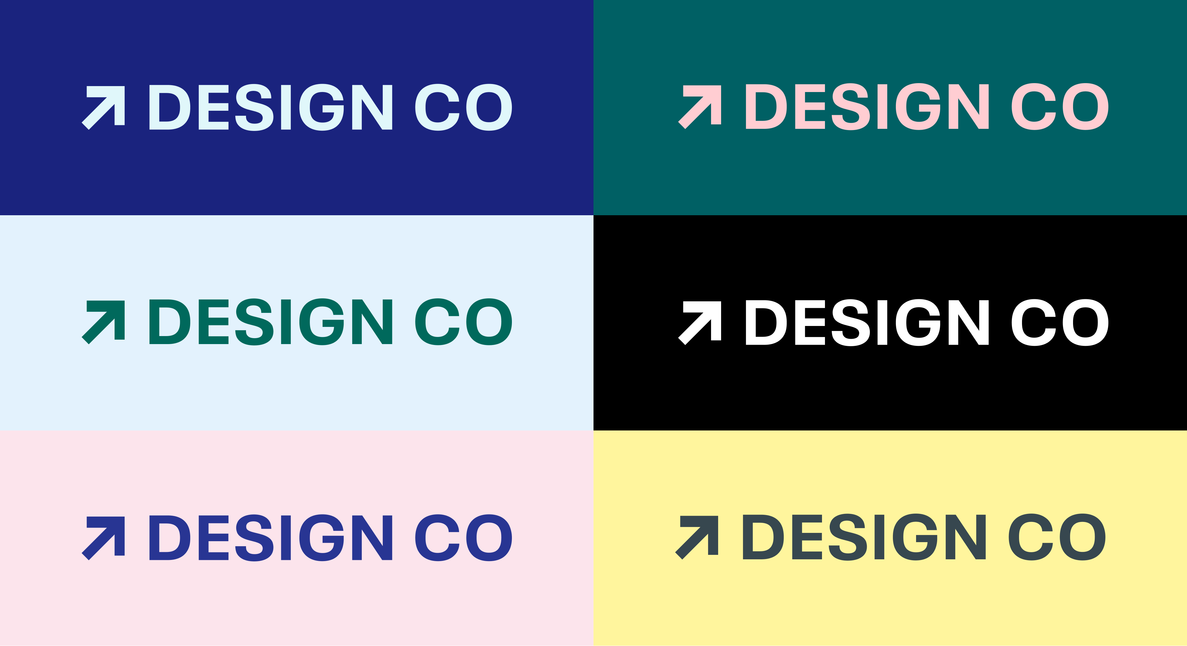 Design Co color combo examples